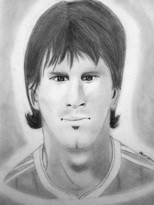 Lionel Messi por atelierduhardcore